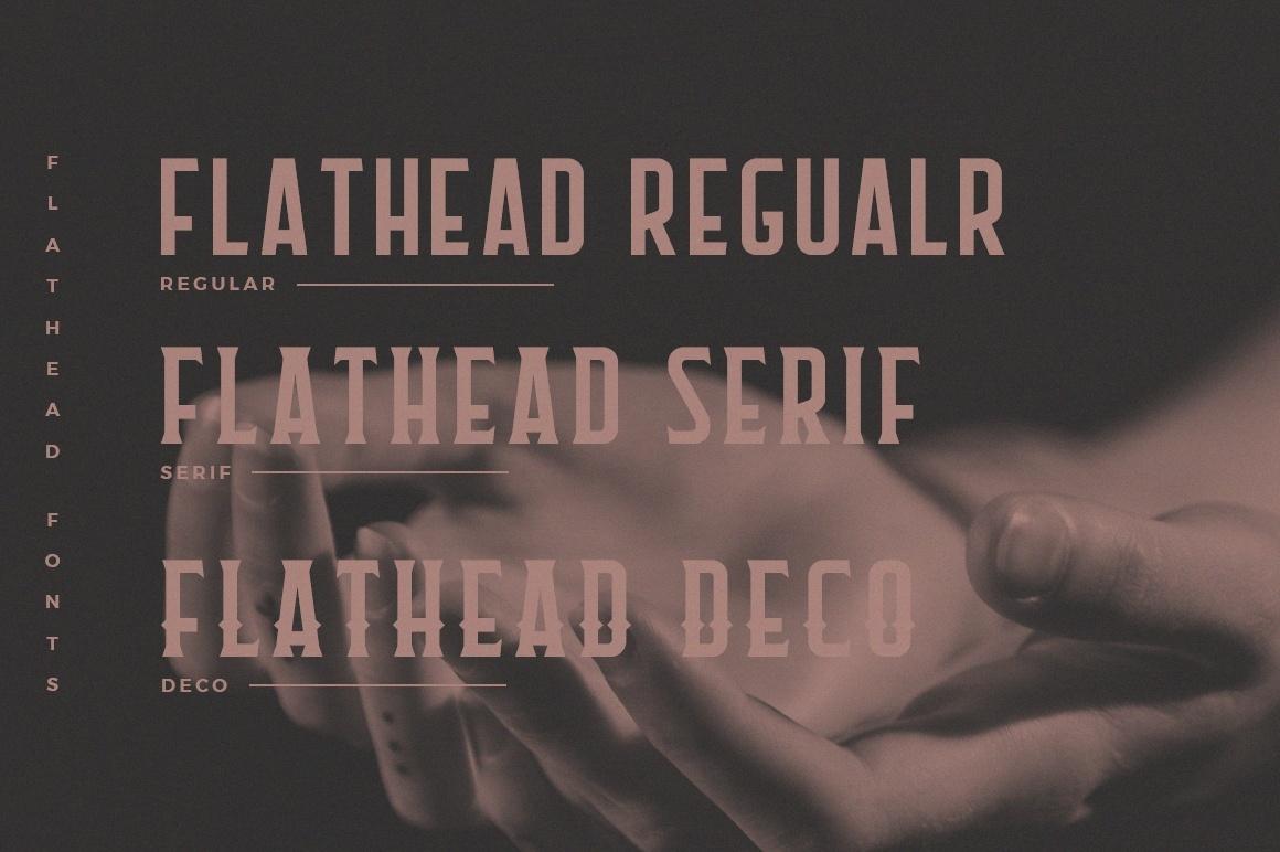 FREE - fonts-Flathead Round字体下载