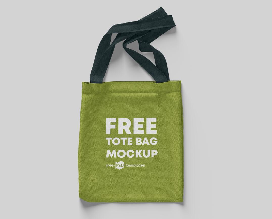 免费可商用的手提袋PSD模型