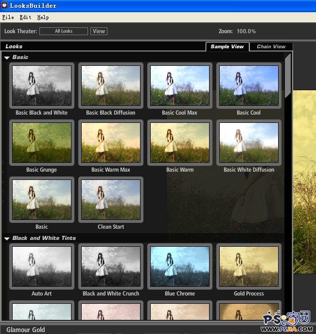 PS调色Magic Bullet PhotoLooks滤镜 v1.0注册版