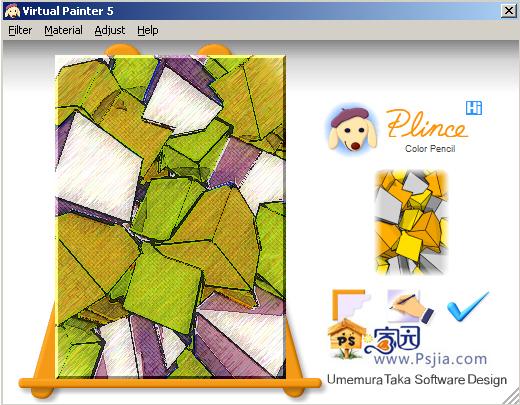 油画风格滤镜Virtual Painter 5免费下载