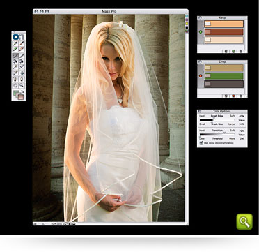 PS抠图滤镜OnOne software Mask Pro v4.1.1
