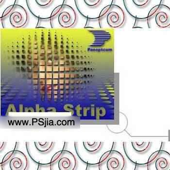 Panopticum Alpha Strip滤镜_几何背景、抽线