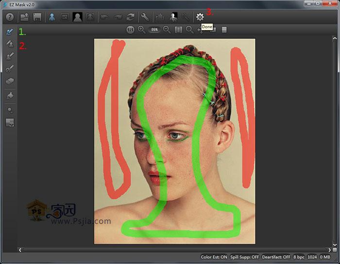(PS抠图滤镜)DFT EZ Mask v2.002 破解版