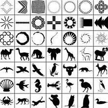 很多形状的合集