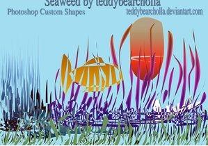 海草形状、海藻形状