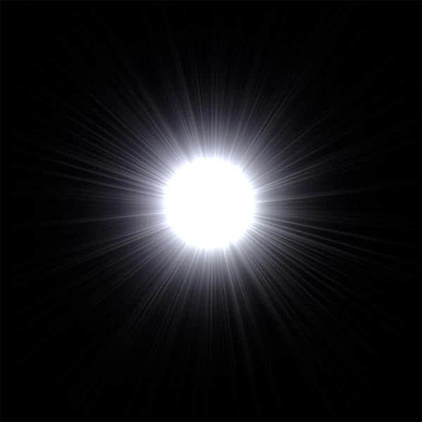 镜头光晕、太阳光晕、太阳光照PS笔刷素材