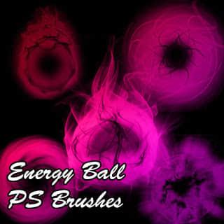 能量球效果Photoshop光影笔刷